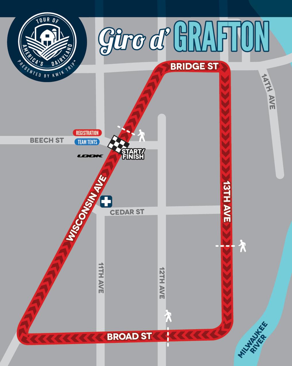 Giro d'Grafton Race Map